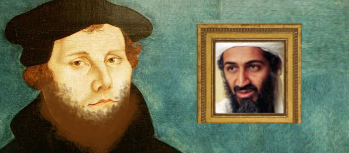 martin luther bin laden